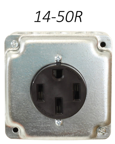 14-50R Receptacle outlet