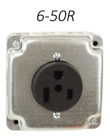 6-50R Receptacle outlet