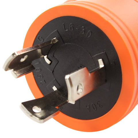 Locking plug and connector