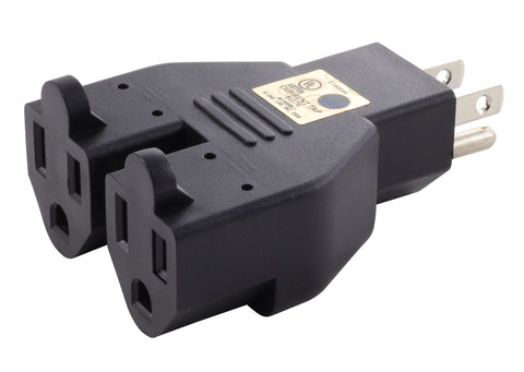 AC WORKS™ brand ADV104 V-DUO adapter