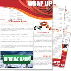 August 2020 Issue Eight of the WRAP UP by AC WORKS®