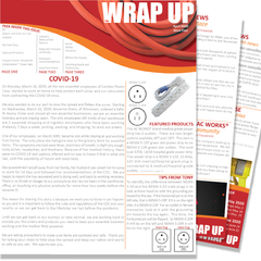 April 2020 Issue Four of the WRAP UP by AC WORKS®