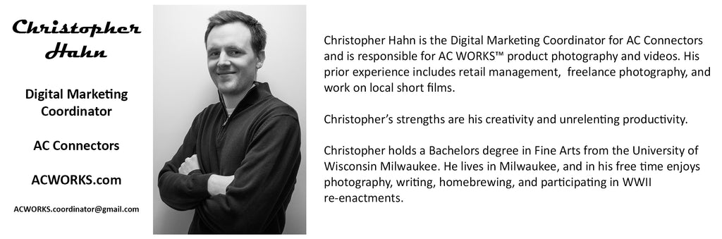 Christopher Hahn - Marketing Coordinator