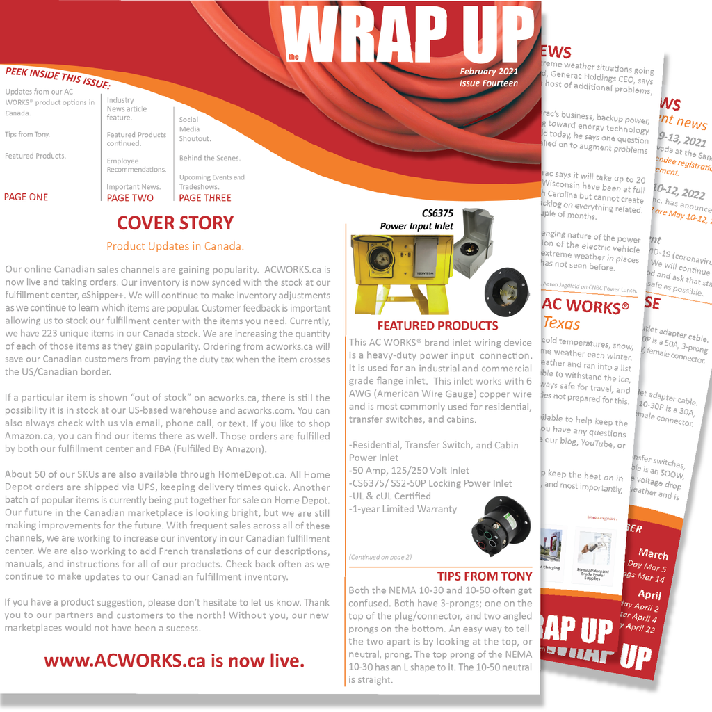 February 2021 Issue Fourteen of the WRAP UP Newsletter