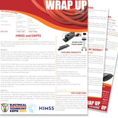 January 21 Issue Thirteen of the WRAP UP by AC WORKS®