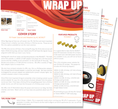 the WRAP UP Newsletter by AC WORKS® July 2021 Issue Nineteen