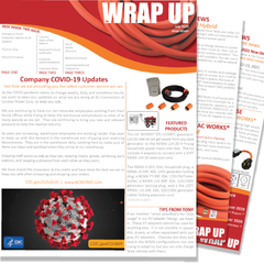 July 2020 Issue Seven of the WRAP UP by AC WORKS®