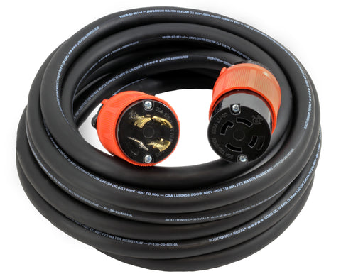 L1430PR locking extension cord