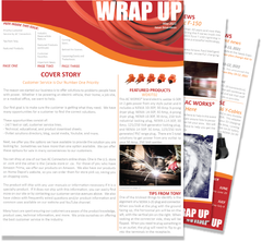 May 2021 Issue Seventeen of the WRAP UP by AC WORKS®