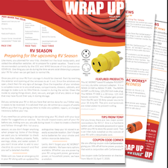 March 2020 Issue Three of the WRAP UP by AC WORKS®
