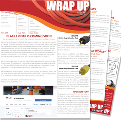 October 2020 Issue Ten of the WRAP UP by AC WORKS®