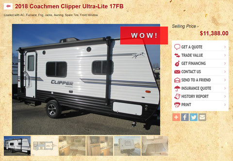 2018 Coachmen RV at Prosser RV Outlet
