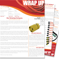 September 20 Issue Nine of the WRAP UP by AC WORKS®