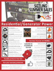 AC WORKS™ Brand Residential and generator summer sale download