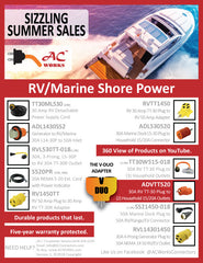 RV Marine Shore Power Promotions - Summer 2018 AC WORKS™