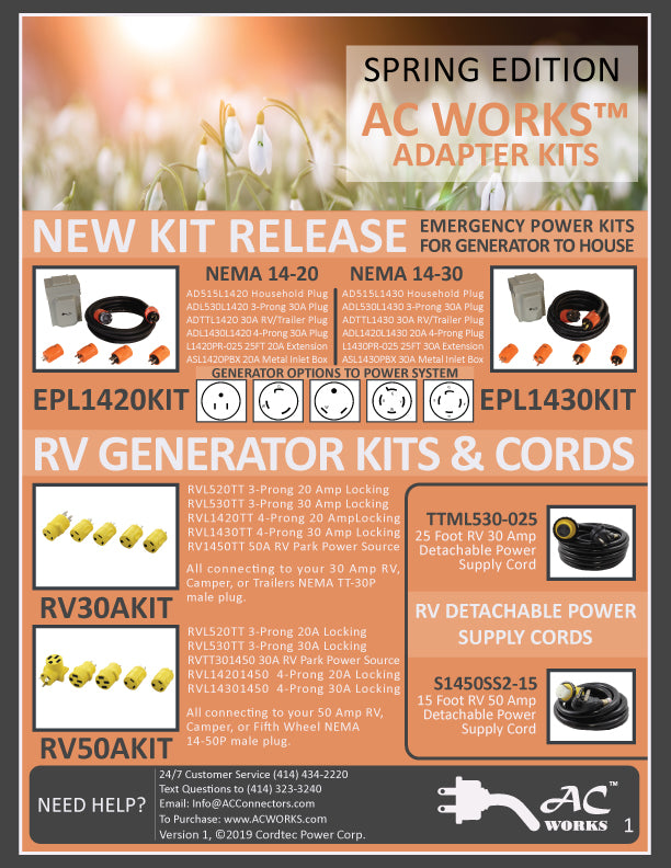 AC WORKS™ Spring Product Sheet Download P1