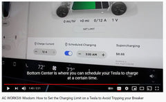 How to Manually Set the Charging Limit in a Tesla