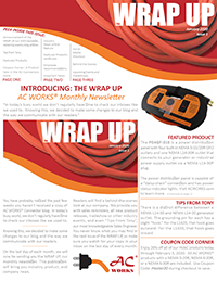 January 2020 Issue One of the WRAP UP