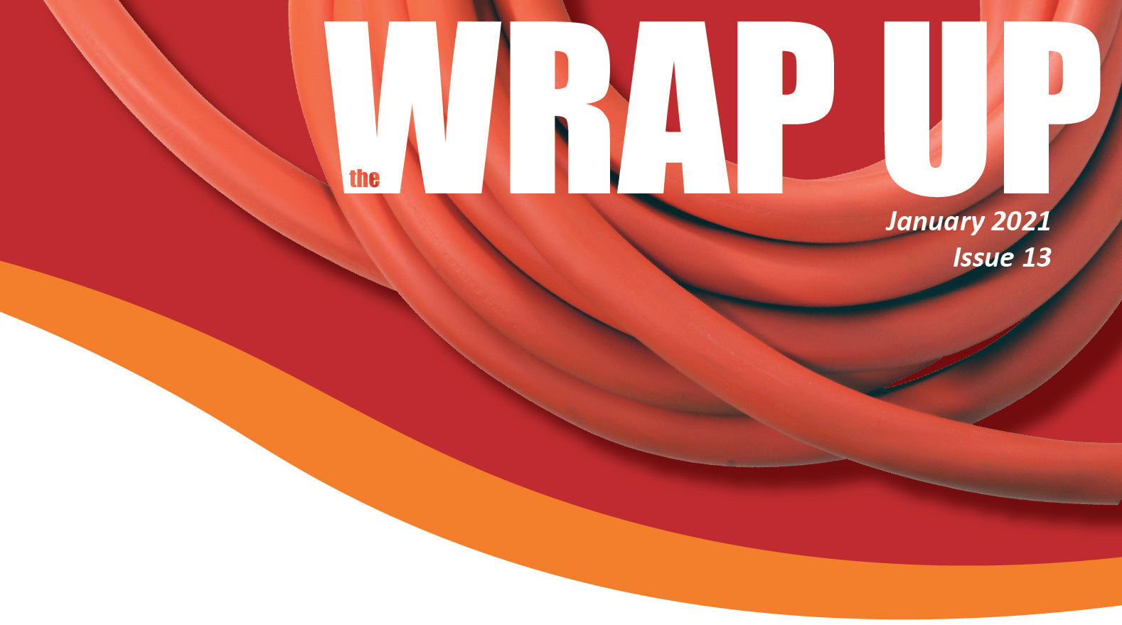 the WRAP UP January 2021 Issue Thirteen by AC WORKS®