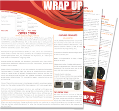 Issue Twenty of the WRAP UP Newsletter