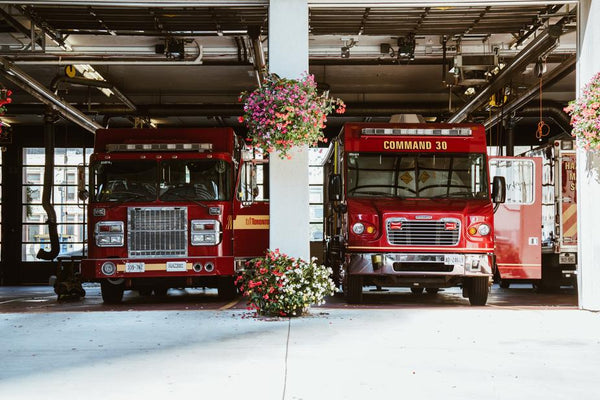 Fire Trucks - Fire Prevention and Safety