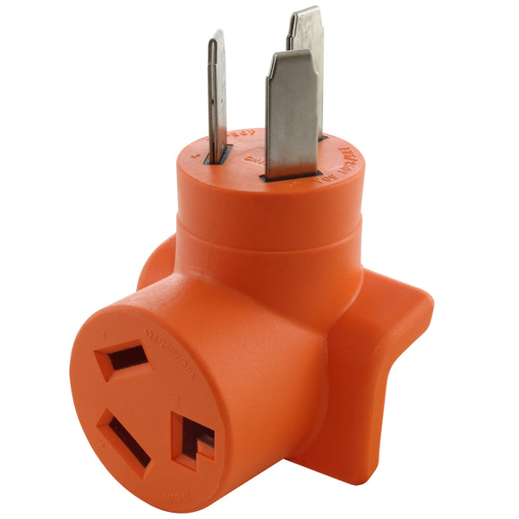 AC WORKS brand orange adapter, AC Connectors compact adapter for welder outlets