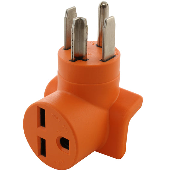 AC WORKS orange compact adapter