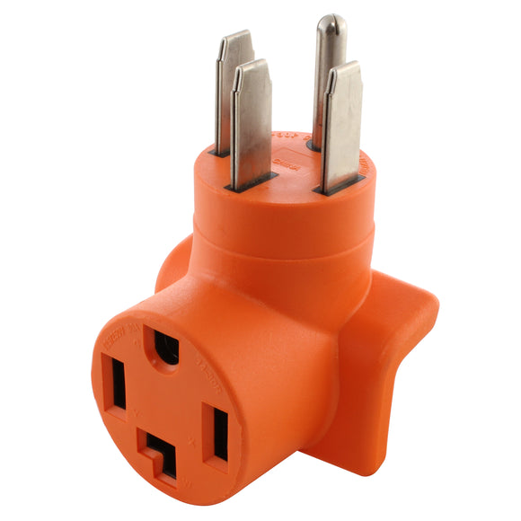AC WORKS, AC Connectors, orange adapter, dryer adapter, residential adapter