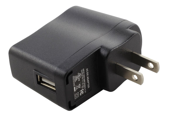 AC WORKS [AD227-40] AC to DC 5 Volt 1Amp USB Charger