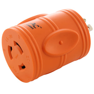 AC WORKS, AC Connectors, orange adapter, compact barrel adapter