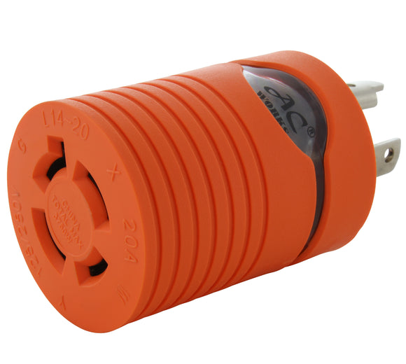 AC WORKS brand locking adapter