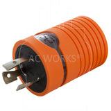 ADL620620, AC Works, AC Connectors, Industrial Locking Adapter, Twist Lock Adapter