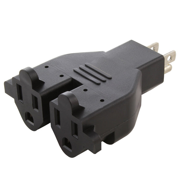 AC WORKS brand multi-outlet household adapter