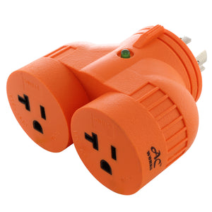 AC Works, V DUO adapter, multi outlet adapter