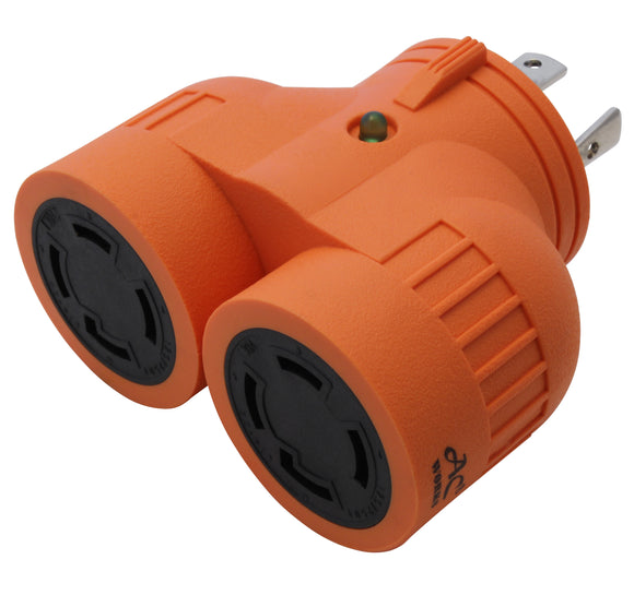 NEMA L14-30 V-DUO adapter for generators