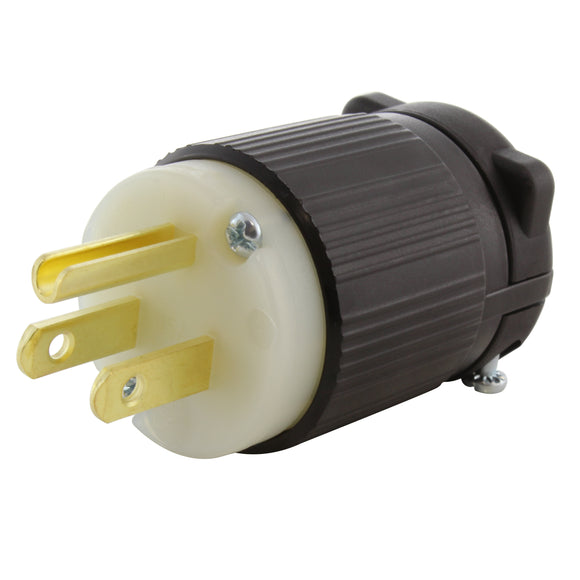 household plug assembly, AC WORKS, AC Connectors, replacement plug assembly