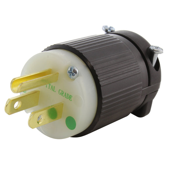 medical grade plug assembly, DIY plug assembly, green dot plug, AC WORKS, AC Connectors