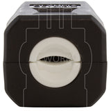 AC WORKS® [ASQ620P-BK] NEMA 6-20P 20A 250V Clamp Style Square Plug with UL, C-UL Approval