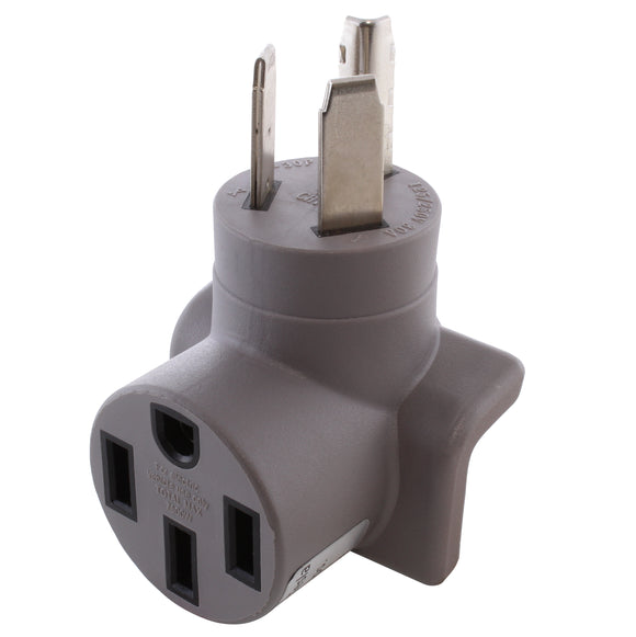 modern gray right angle adapter, 90 degree compact adapter, adapter for tesla charger