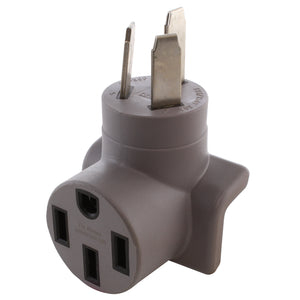 compact Tesla adapter, right angle adapter, modern gray adapter, adapter for Tesla charging