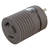 AC WORKS® [EV515L630] EVSE Upgrade EV Charging Adapter 15A Household Plug to L6-30R Female Connector