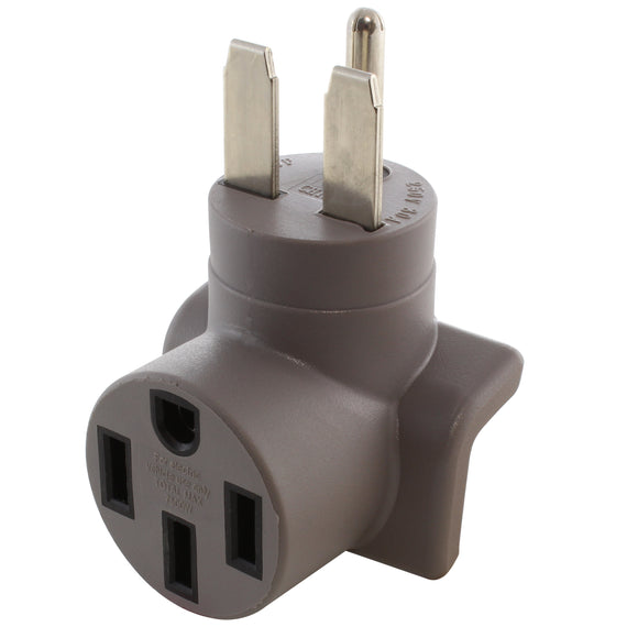 modern gray compact adapter, Tesla charging adapter, compact adapter