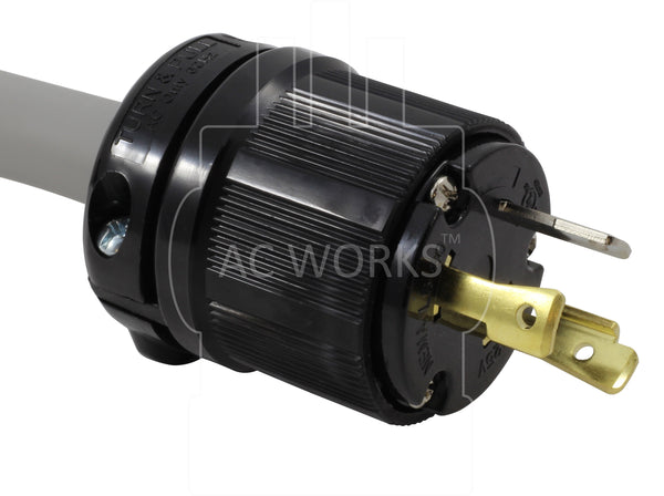 EV Adapter 30Amp 125Volt L5-30P Locking Plug to To 50Amp Electric Vehicle Adapter Cord for Tesla