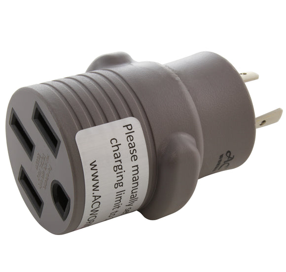 AC WORKS brand EV charging adapter