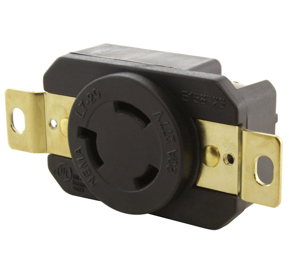 AC WORKS brand replacement outlet, AC Connectors, replacement outlet for generator