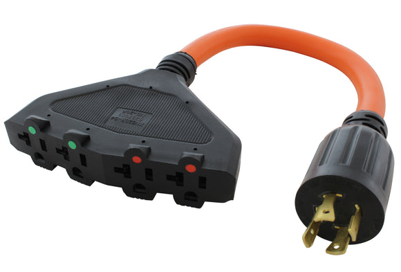 NEMA L14-20 power splitter adapter