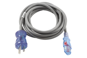 AC WORKS™ [MD170-AL] 10FT 13A 16/3 10A Medical Grade Power Cord with Locking IEC C13