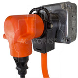 50 amp outlet piggy-back adapter for multiple appliances