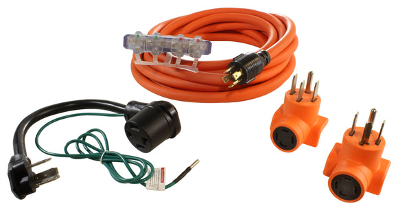 AC WORKS brand flood restoration kit, residential power distribution kit