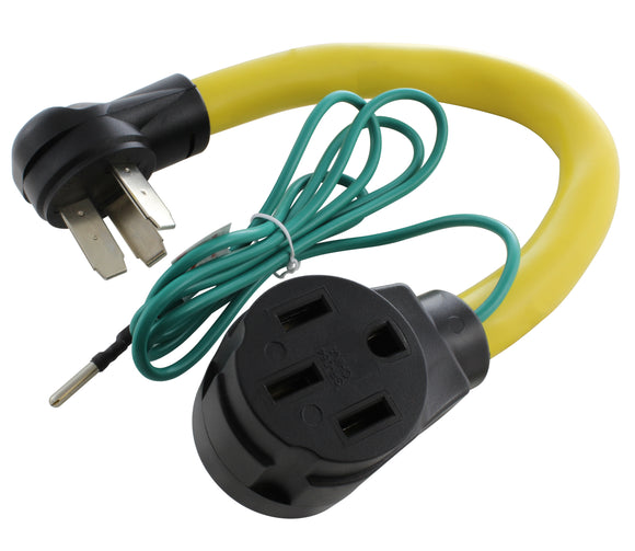 RV adapter for 1050 outlet, RV/EV adapter with grounding wire